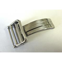 Boucle déployante acier EBEL 18mm