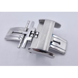 Longines, steel deployant buckle 18 mm