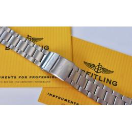 Bracelet Breitling  Superocean acier 162A
