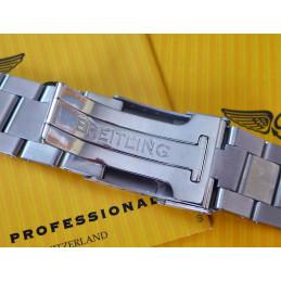 Breitling  Superocean asteel strap 162A