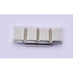 Chanel Chocolat steel link - 24 mm