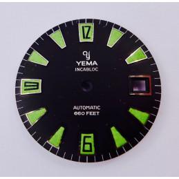 Cadran YEMA skin diver vintage