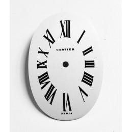 Cartier mini baignoire dial