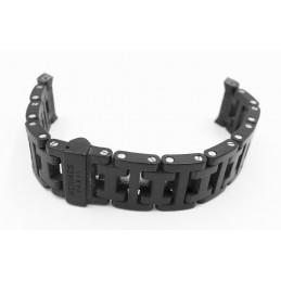 Bracelet acier/caoutchouc HERMES 17mm
