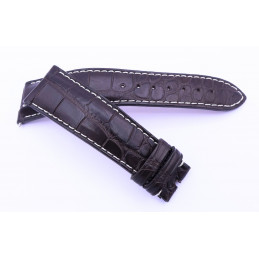 Vulcain, bracelet croco 22 mm