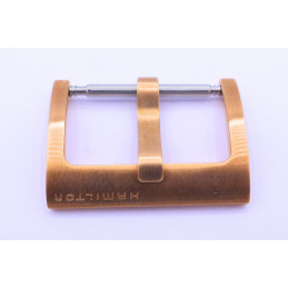 HAMILTON pink golden plates buckle 20 mm