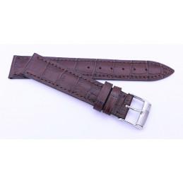 Frederique Constant - Bracelet façon croco 18 mm