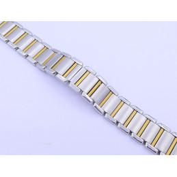 Bracelet or/acier Cartier Tank Française - PM