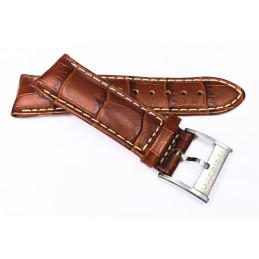 Hamilton Bracelet cuir 21 mm avec boucle acier H600100308