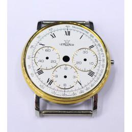 Case and chrono dial Lemania