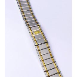 CORUM  steel gold  strap 18 mm