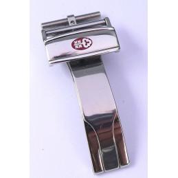 Steel buckle Corum 16 mm