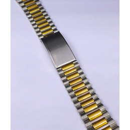 Bracelet NSA acier / doré 22 mm