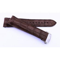 Frederique Constant - Bracelet croco avec boucle déployante