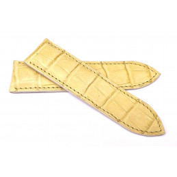 Bracelet croco 22 mm
