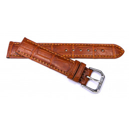 Bracelet croco 18 mm