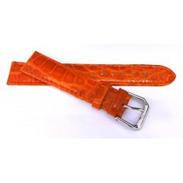 Croco strap 18 mm