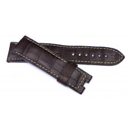 Bracelet croco 24 mm