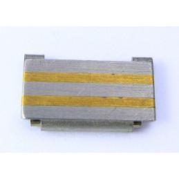 Omega steel / gold link 14 mm