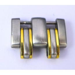 Maillon Omega or / acier 14 mm