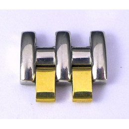 Maillon Omega or / acier 12 mm