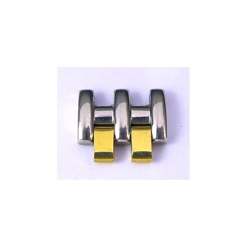 Omega steel / gold link 12 mm