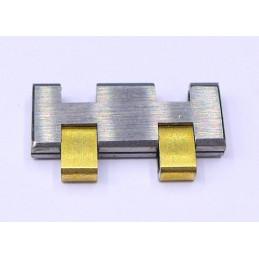 Omega steel / gold link 16 mm