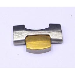 Omega gold / titanium  link 17 mm