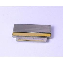 Omega steel / gold link 15 mm