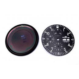 Fortis fond de boite et cadran de chrono automatic