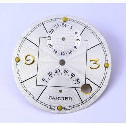 Cartier- Superluminova Pasha dial 38 mm