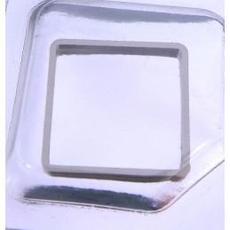 Cartier - Rehaut rehaut acier carre GM - 10360911