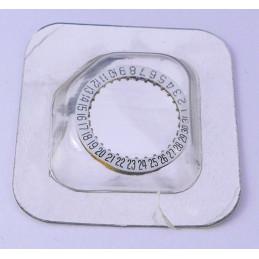 Cartier - Disque de date  guichet 6h Mvt 77 - VC200277