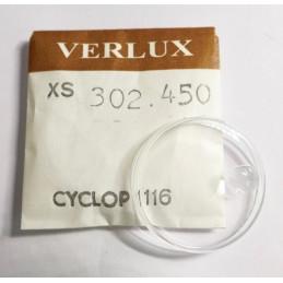 Rolex - Verre Tropic 19 pour Submariner 1512 / 1513