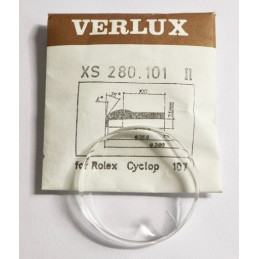 Rolex CYCLOP 107 glass