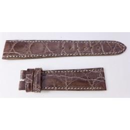 Bracelet croco 20 mm
