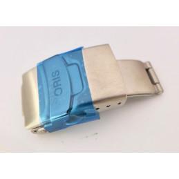 Boucle déployante acier ORIS 18mm pour bracelets caoutchouc