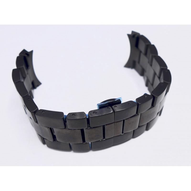 Hamilton black steel strap H605785100