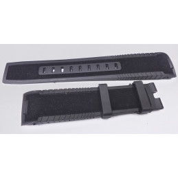 Hamilton - rubber strap with folding buckle