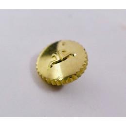 Jaeger Lecoultre couronne or jaune anti poussière 5 mm