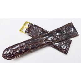 Bracelet crocodile 22 mm ancien