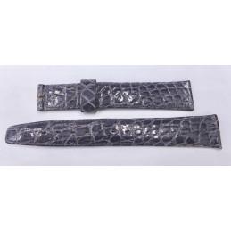 Bracelet crocodile 17 mm