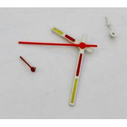Set of Yema chronograph hands