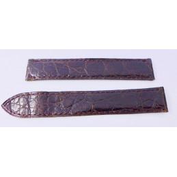 Cartier crocodile strap 16mm