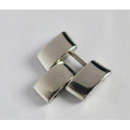 Steel link Baume et Mercier 17,9mm Hampton