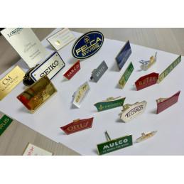 Enemal Huguenin Neuchatel display, vintage Swiss brand