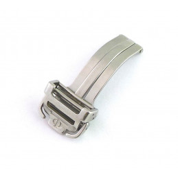 Baume & Mercier steel deployant buckle 16mm