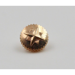 ZENITH gold plated crown 5.00 mm