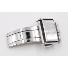 ORIS 18mm steel deployant buckle