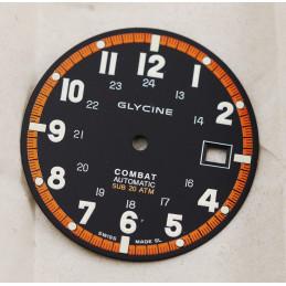 Glycine Combat automatic Sub 20 atm dial